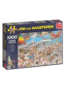Puzzle 1000 Piezas comic En la Playa