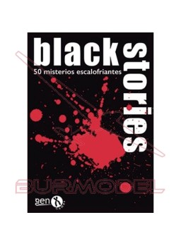 Juego de cartas Black Stories