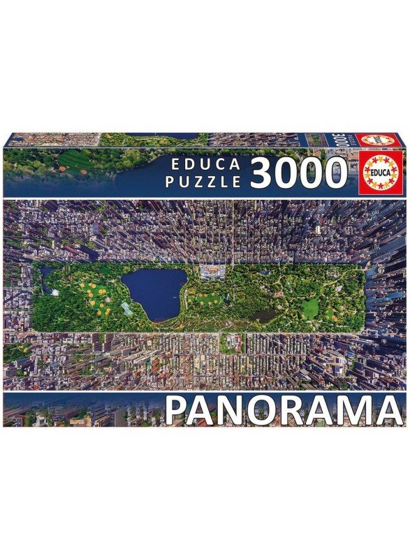 Puzzle 3000 piezas Central Park New York Panorama Series