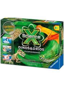 Juego científico dinosaurios 6 experimentos