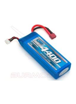 Batería LiPo 11,1V 4400mAh 30C dean Gravit GPS