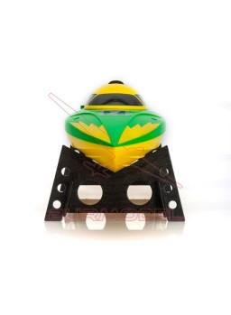 Lancha RC LRP Deep Blue Racing 340 amarilla-verde