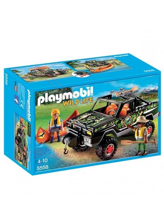 Playmobil Pick Up de Aventura