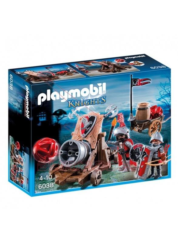 Playmobil Caballeros del Halcón con Cañón