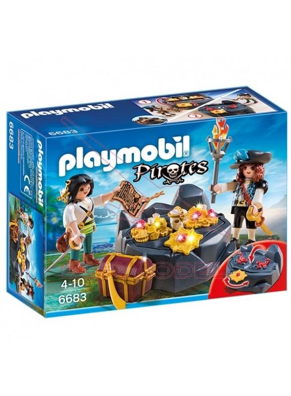 Playmobil Escondite del Tesoro Pirata