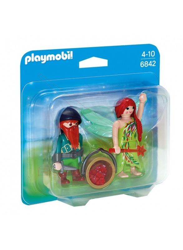 Playmobil Duo Pack Hada y Elfo