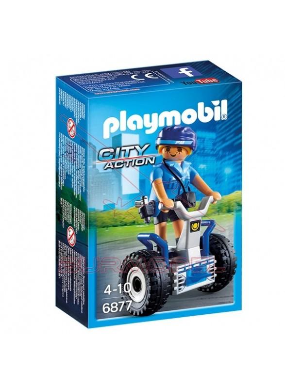 Playmobil Policía con Balance Racer