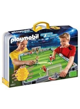 Playmobil Set de Fútbol Maletín