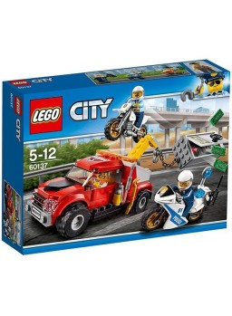 Lego City Camión grúa en problemas