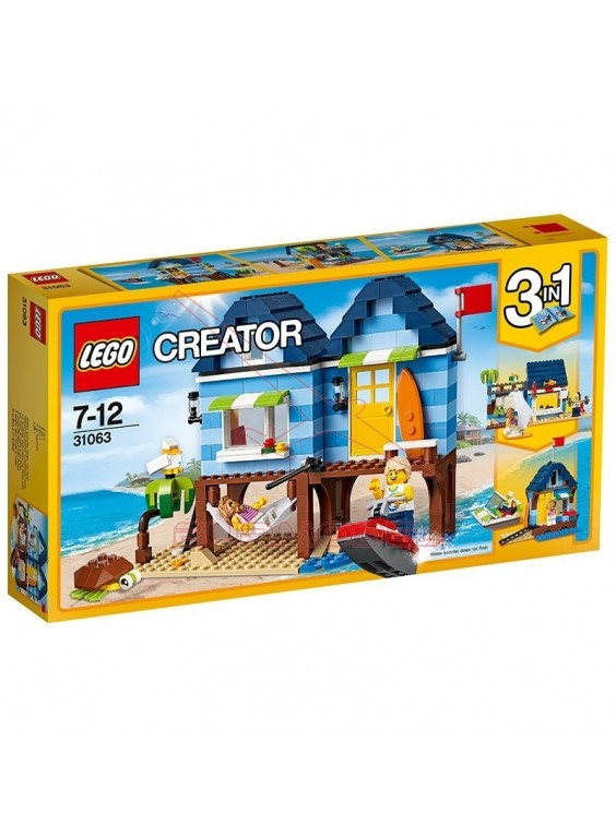 Lego Creator Vacaciones en la playa