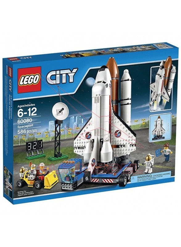 Lego City Puerto Espacial