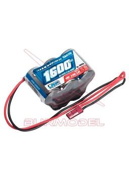 Batería 6v 1600mAh NiMh pirámide para coches RC