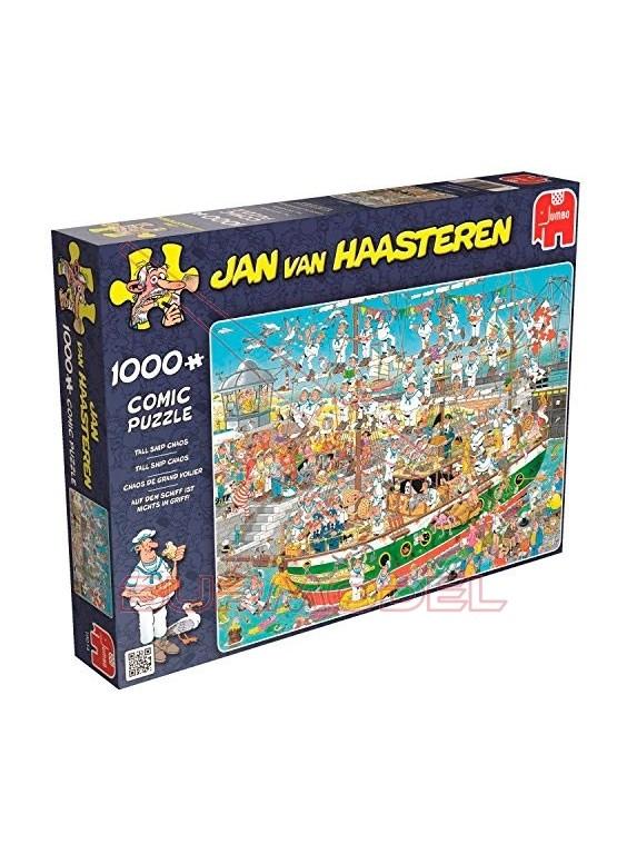Puzzle 1000 piezas Caos en el barco