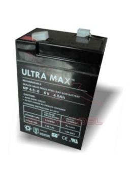 Batería de plomo 6V 4,5A