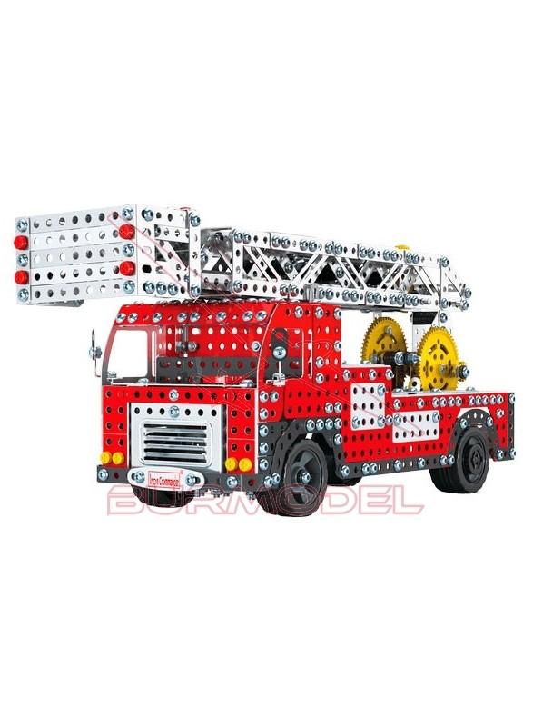 Kit de montaje camión de bomberos de metal 1759 pz