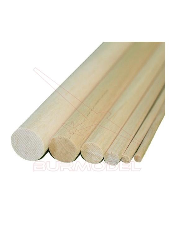 Listón madera de balsa 12 mm