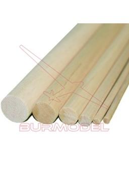 Listón madera de balsa 15 mm