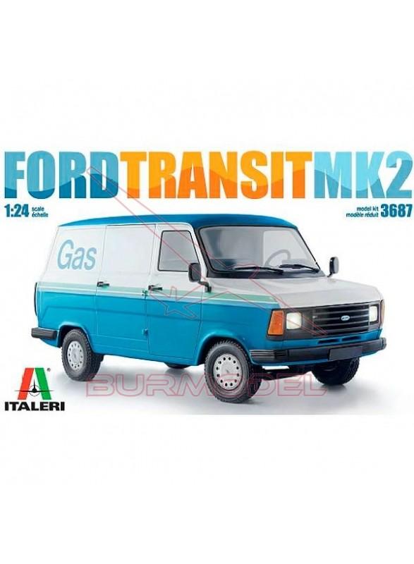 Maqueta Ford Transit MK2 1/24