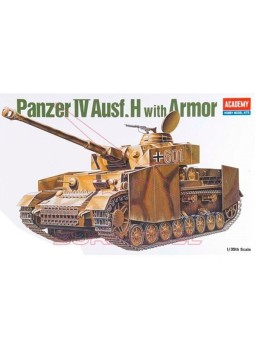 Tanque Panzer IV AUSF.ARMOR 1/35