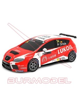 Coche Scalextric Compact Seat León TCR Oriola 1/43