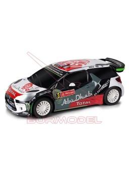 Coche Scalextric Compact Citroen DS3 Rally Portuga