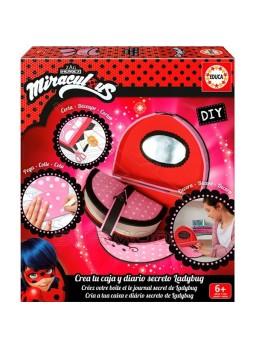 Caja y diario secreto de Ladybug Fofucha