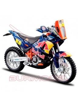 Maqueta moto KTM 450 Rally