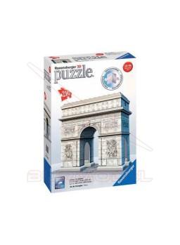 Arco del triunfo para construir en 3D 216 piezas