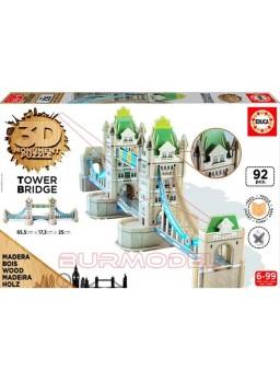 Puzzle Puente de la Torre 3D 92 piezas