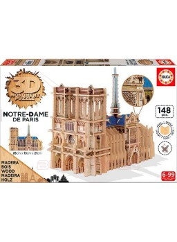 Puzzle Notredrame de París 3D