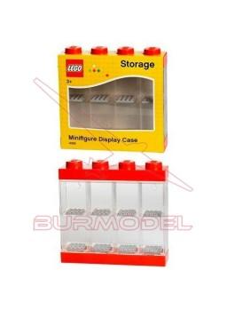 Vitrina para 8 minifiguras LEGO