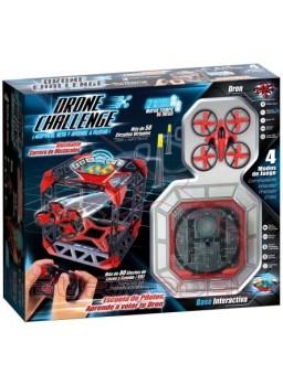 Drone Challenge con base interactiva