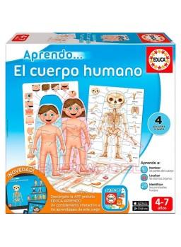 Puzzle Aprendo el cuerpo humano + APP