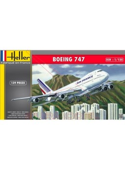 Maqueta avión Boing 747 1:125 139pzs