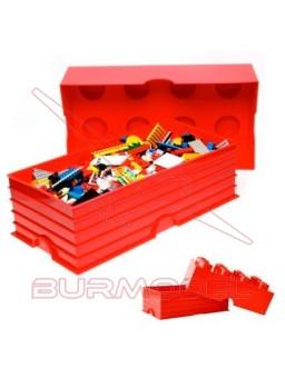Caja almacenaje Lego 25x50x18