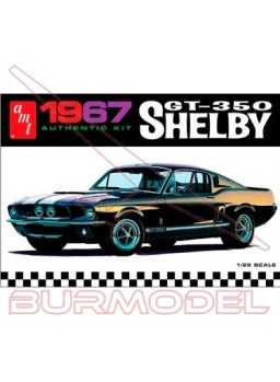 Maqueta AMT Shelby GT350 1967 escala 1/25 Nivel 2