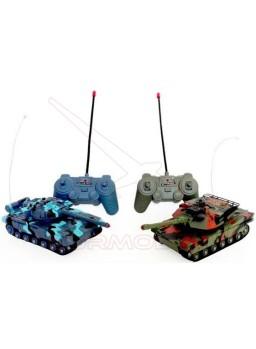 Tanques de combate para batalla RC