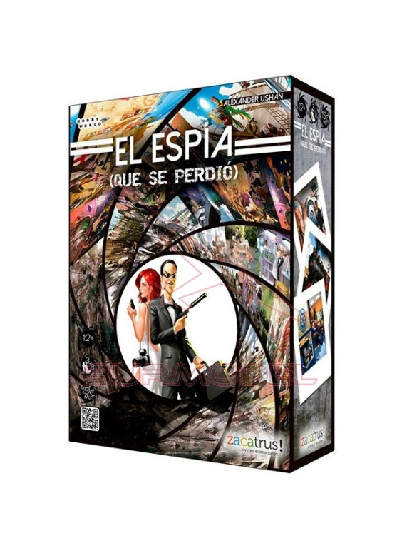 Juego de mesa El Espia (que se perdió)