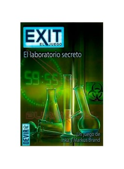 Juego de mesa Exit El Laboratorio Secreto