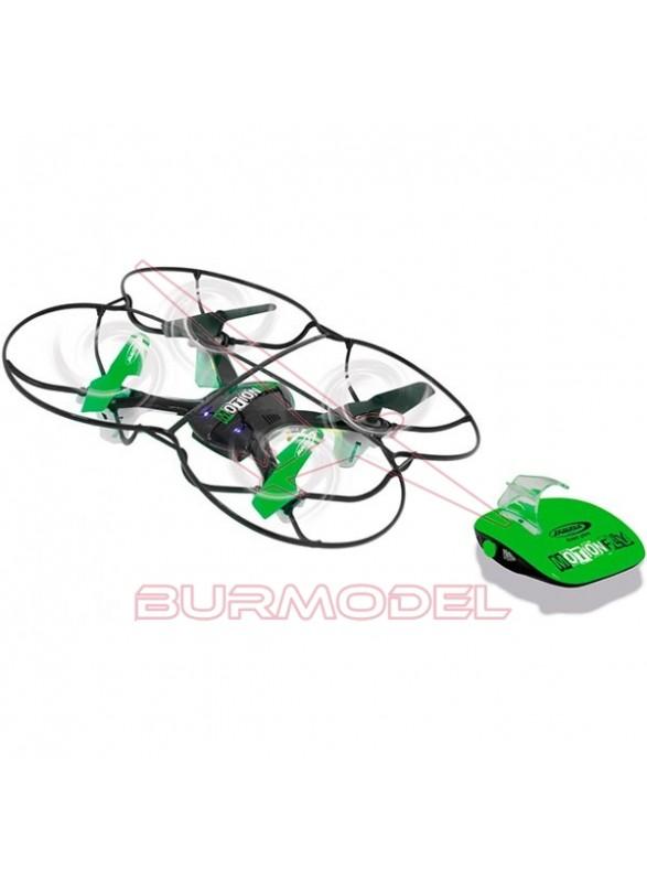 Dron motion fly G-Sensor brujula Turbo F