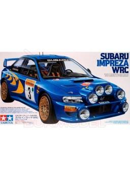 Maqueta Subaru Impreza WRC'98 Montecarlo 1/24
