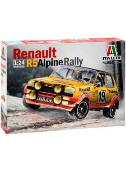 Maqueta Renault R5 Alpine Rally 1/24