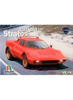 Maqueta coche Lancia Stratos HF 1:24
