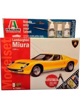Maqueta Lamborghini Miura 1:24