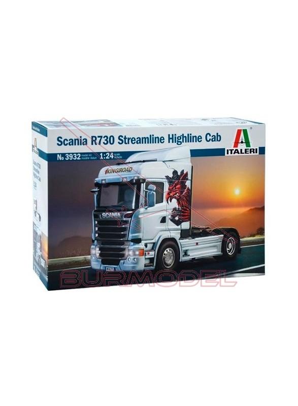Maqueta Scania R730 Stramline Highline Cab 1:24