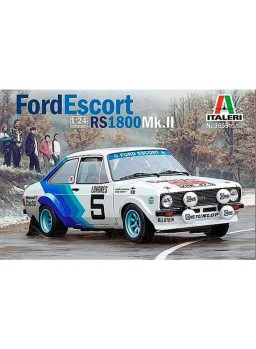 Maqueta coche Ford Scort RS1800Mk.II 1:24
