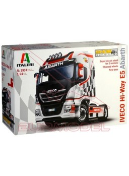 Maqueta Iveco Hi-Way E5 Abarth