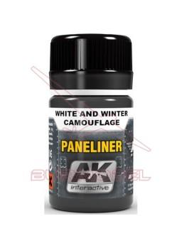 Blanco invierno camuflaje AK-interactive Paneliner