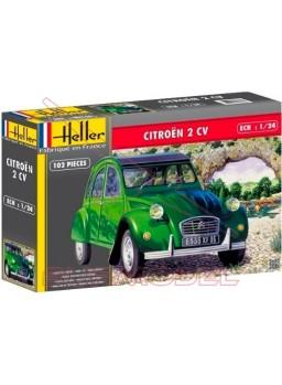 Maqueta Citroën 2CV