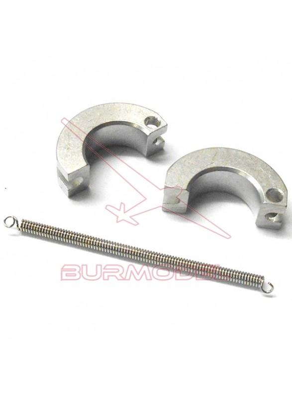 Embrague aluminio completo 1/8 Nitro BSD
